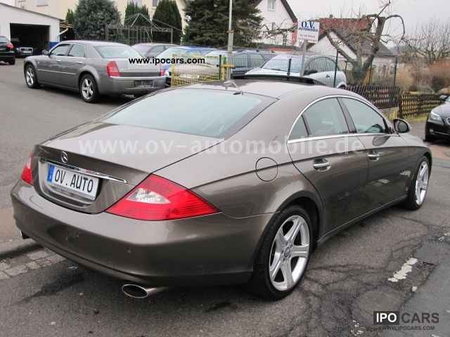 2006 mercedes benz cls 320 cdi car photo and specs for Mercedes benz cls 2006