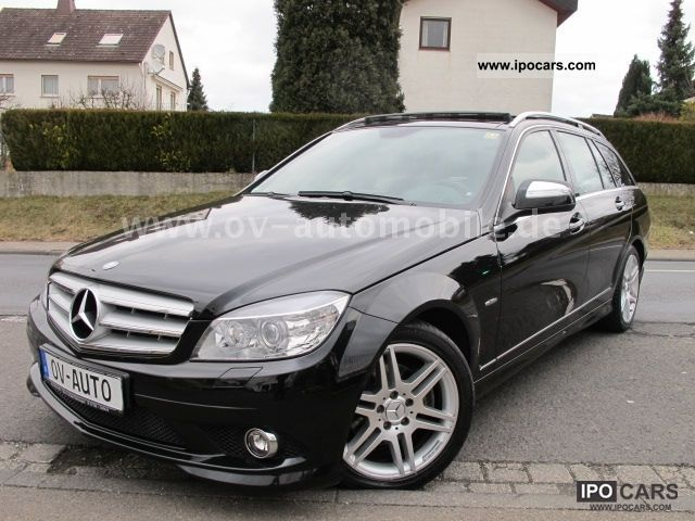 2008 mercedes benz c 220 t cdi avantgarde car photo and specs. Black Bedroom Furniture Sets. Home Design Ideas