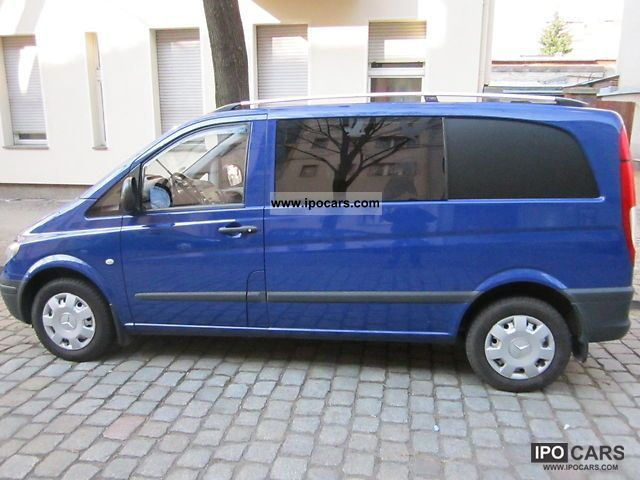 2005 mercedes benz vito 109 cdi compact mixto car photo and specs. Black Bedroom Furniture Sets. Home Design Ideas