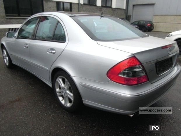 2008 Mercedes Benz E 420 Cdi Avantgarde Panoramic Heater