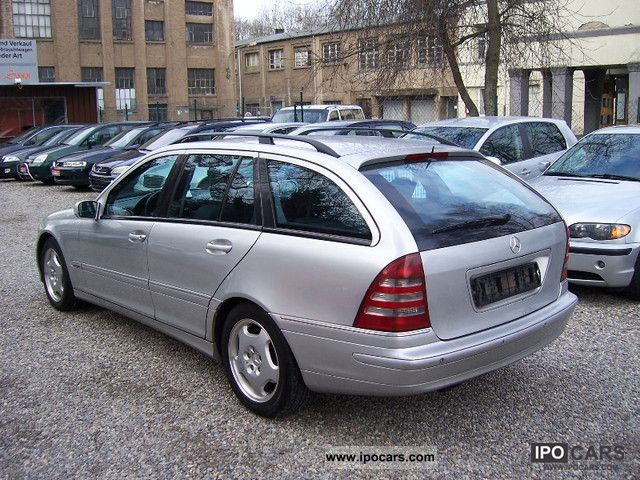 2001 mercedes benz c 270 t cdi avantgarde car photo and specs. Black Bedroom Furniture Sets. Home Design Ideas