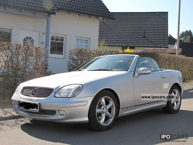 2001 mercedes benz slk 200 kompressor car photo and specs. Black Bedroom Furniture Sets. Home Design Ideas