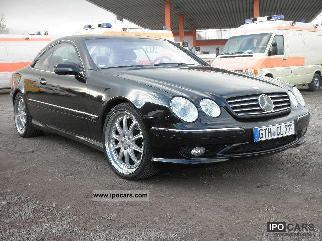 2000 mercedes benz cl 600 amg optics package car photo for Mercedes benz 600 amg