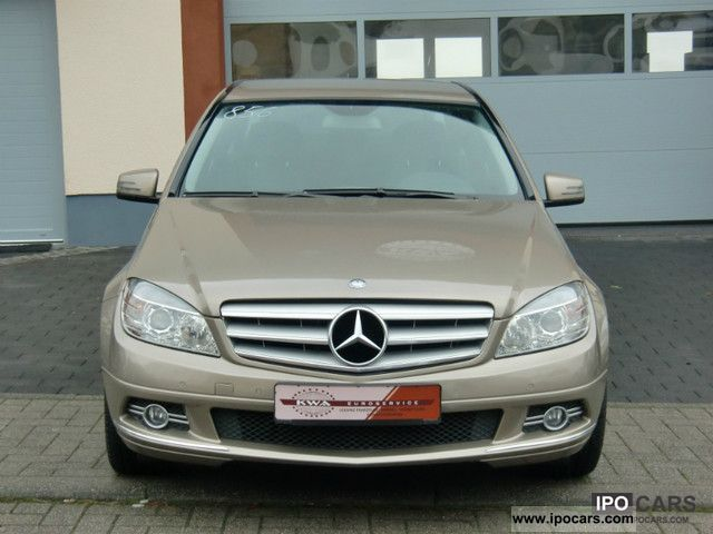 2009 mercedes benz c200 cdi avantgarde leather navi pdc alu 17 car photo and specs. Black Bedroom Furniture Sets. Home Design Ideas