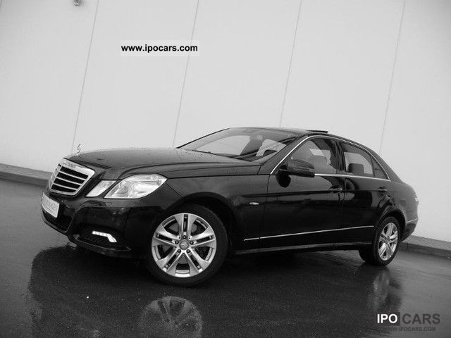 2009 Mercedes-Benz  E 350 CDI Avantgarde 7G-TRONIC DPF BE Sitzklimat Limousine Used vehicle photo
