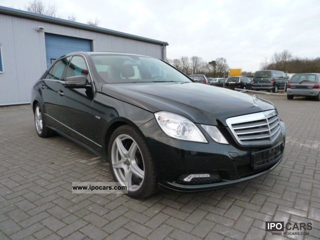 2009 mercedes benz e 350 cdi blueefficiency dpf 7g tronic. Black Bedroom Furniture Sets. Home Design Ideas