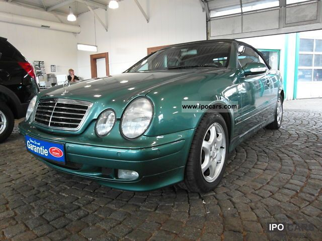 2000 mercedes benz clk 200 kompressor avantgarde car photo and specs. Black Bedroom Furniture Sets. Home Design Ideas