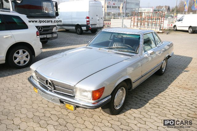 Mercedes-Benz  280SL automatic convertible classic car 1Hand 1975 Vintage, Classic and Old Cars photo