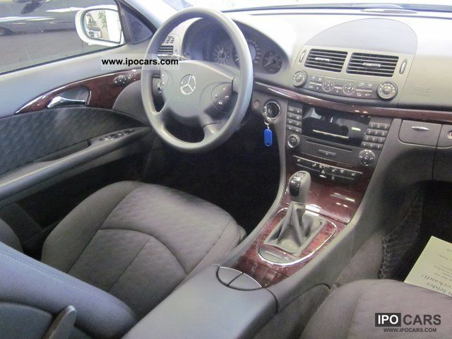 2005 Mercedes Benz E 220 Cdi Car Photo And Specs