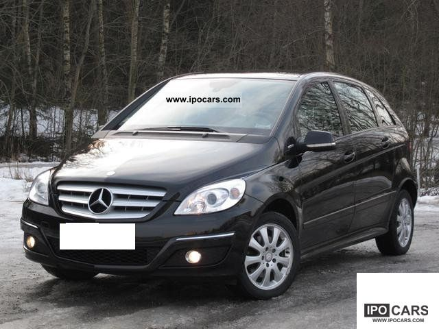 Mercedes-Benz  B 170 NGT * Automatic * 1-hand seat * Heating * 2009 Compressed Natural Gas Cars (CNG, methane, CH4) photo