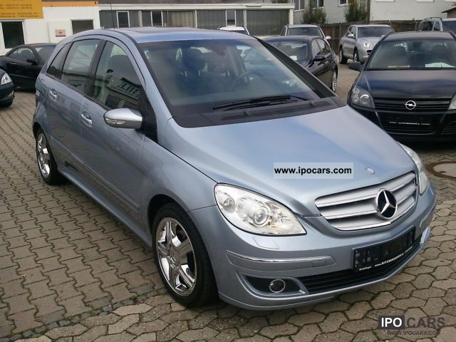 2007 Mercedes Benz B 200 Turbo Sport Package Lamella