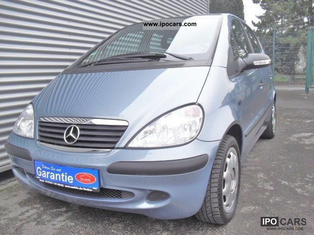 2003 mercedes benz a 160 long air 2 hand esp erst54tkm car photo and specs. Black Bedroom Furniture Sets. Home Design Ideas