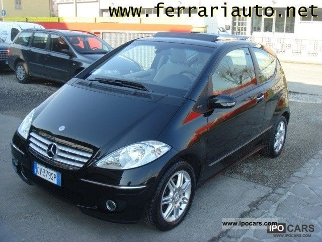 2005 mercedes benz a 170 elegance coupe autotronic car photo and specs. Black Bedroom Furniture Sets. Home Design Ideas