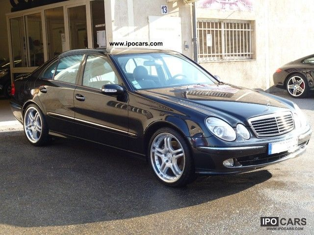 2004 mercedes benz e 400 cdi avantgarde comand yes 19. Black Bedroom Furniture Sets. Home Design Ideas