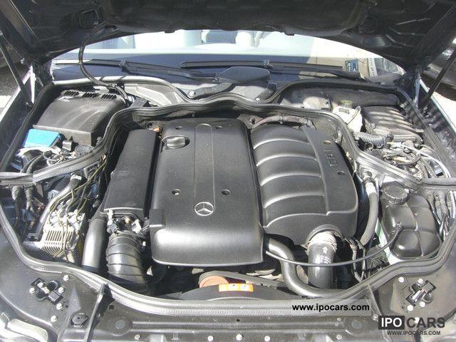 2004 Mercedes-Benz E 220 CDI Elegance Auto - Car Photo and Specs