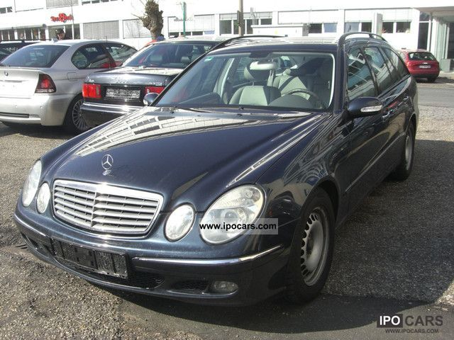 2004 mercedes benz e 220 cdi elegance auto car photo and specs. Black Bedroom Furniture Sets. Home Design Ideas