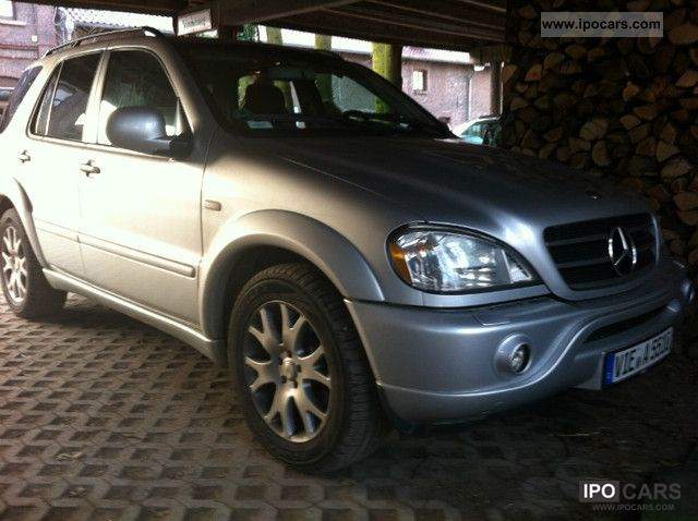 Mercedes-Benz  ML 55 AMG - 95 liters of gas plant Prins -! 347HP! 2000 Liquefied Petroleum Gas Cars (LPG, GPL, propane) photo