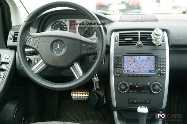 2007 MercedesBenz B 200 Turbo Aut Comand navigation system xenon