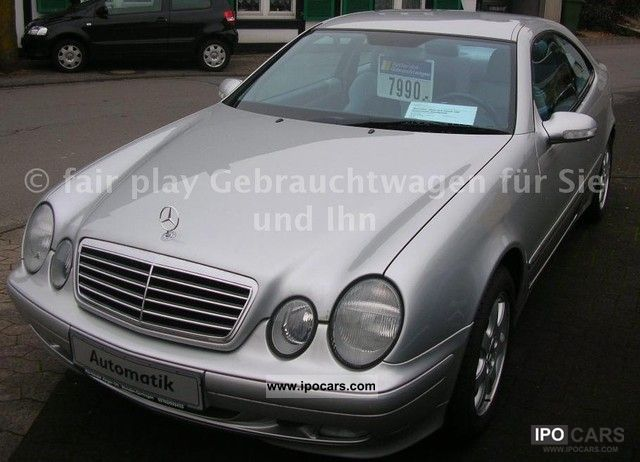 2000 mercedes benz clk 230 kompressor avantgarde coupe car photo and specs. Black Bedroom Furniture Sets. Home Design Ideas