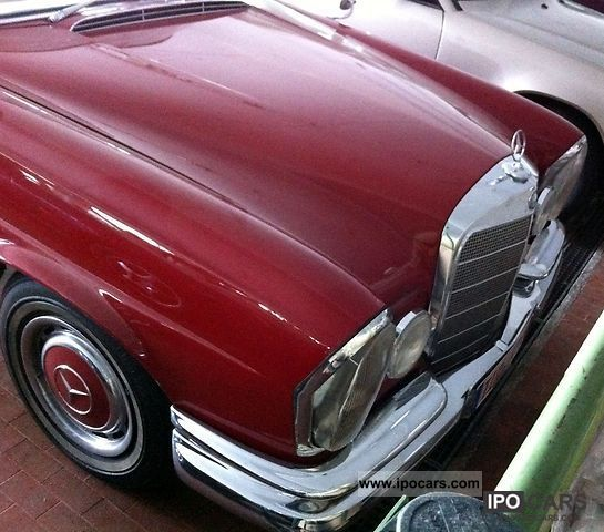 Mercedes-Benz  220 SEB Coupe 1961 Vintage, Classic and Old Cars photo