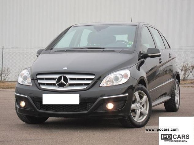 Mercedes-Benz  B 170 NGT, Full Service History * 1-hand seat * Heating * 2008 Compressed Natural Gas Cars (CNG, methane, CH4) photo