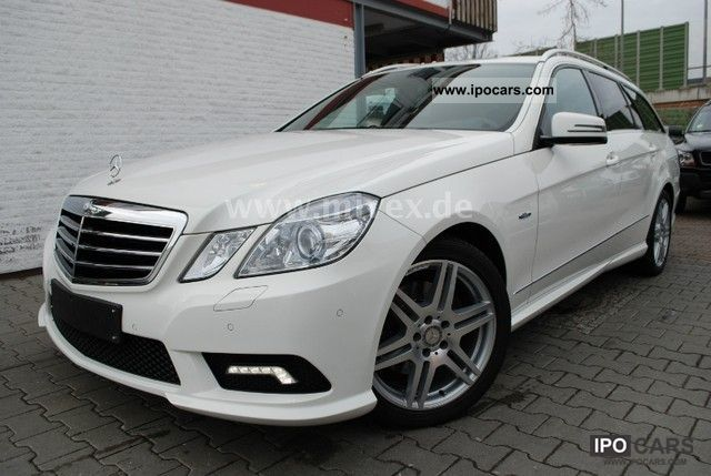 2009 Mercedes-Benz  E 350 CDI BlueEFFICIENCY 7G-TRONIC DPF AMG Estate Car Used vehicle photo
