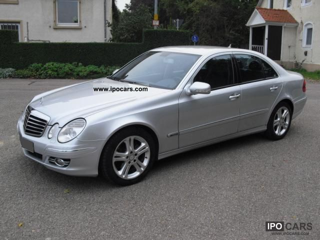 2007 mercedes benz e 280 cdi avantgarde 7g tronic car photo and specs. Black Bedroom Furniture Sets. Home Design Ideas