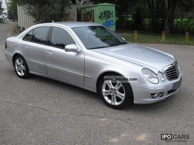 2007 mercedes benz e 280 cdi avantgarde 7g tronic car