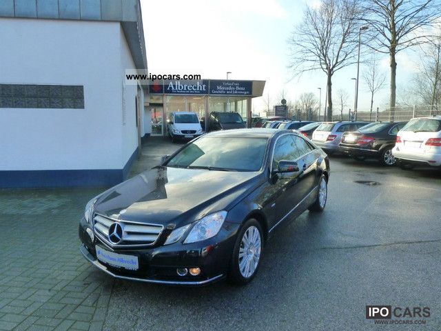 2011 mercedes-benz e 220 cdi avantgarde coupe 7 speed auto + navi