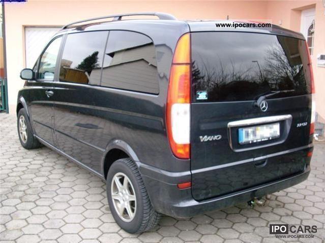 2004 mercedes benz viano 2 0 cdi trend long seater 8. Black Bedroom Furniture Sets. Home Design Ideas