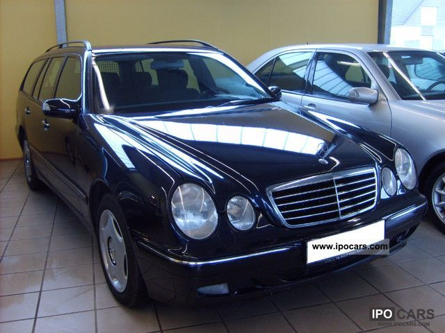 2001 mercedes benz e 220 cdi avantgarde xenon 2 hand tuv new car photo and specs. Black Bedroom Furniture Sets. Home Design Ideas