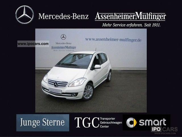 2012 Mercedes-Benz  BE A 180 ELEGANCE ** COMAND navigation / PTS / Air Limousine Demonstration Vehicle photo