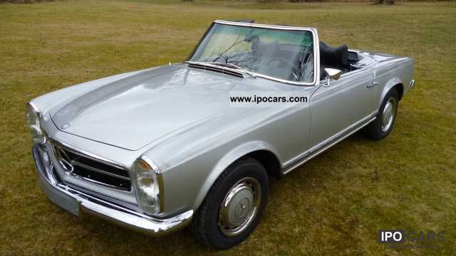 1971 mercedes benz sl 280 pagoda car photo and specs. Black Bedroom Furniture Sets. Home Design Ideas
