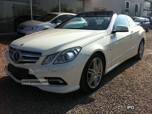 2011 mercedes benz e 350 cdi cabriolet amg cabriolet car photo and specs. Black Bedroom Furniture Sets. Home Design Ideas
