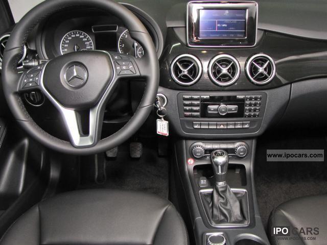 2011 Mercedes Benz B 180 Cdi Parktronic Navi Xenon Climate