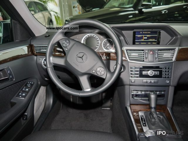 2010 Mercedes-Benz E 200 CGI BlueEFFICIENCY Automatic - Car Photo ...