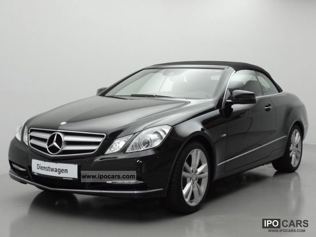 2012 mercedes benz e 220 cdi be convertible plus 7g tronic for 2012 mercedes benz e350 convertible
