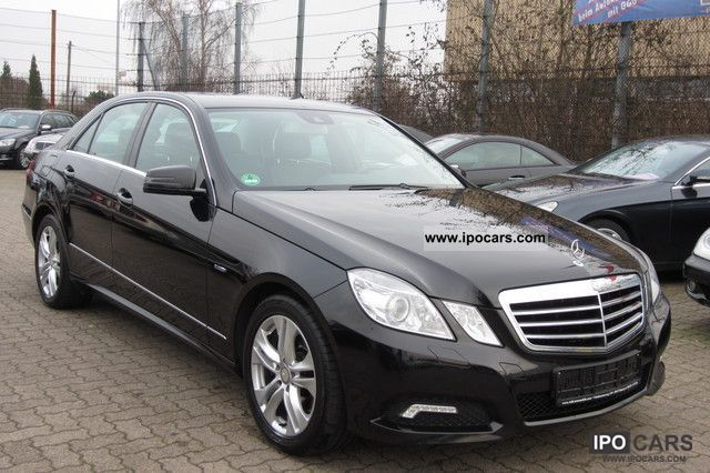 2009 Mercedes-Benz E 250 CDI BlueEFFICIENCY / AVANTGARDE - Car ...