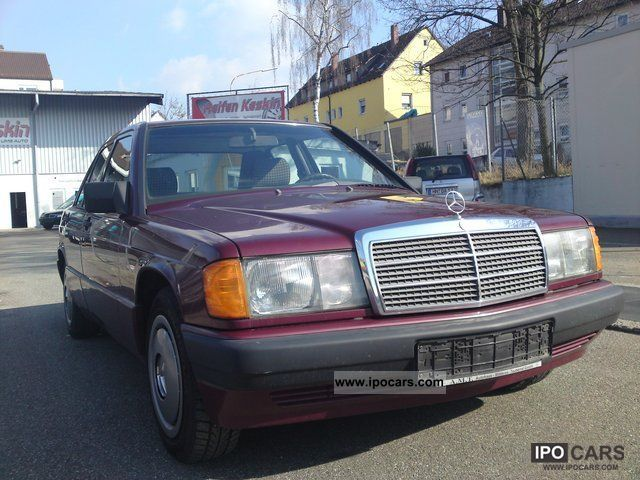 1990 mercedes benz e 190 201 024 car photo and specs for Mercedes benz used parts miami