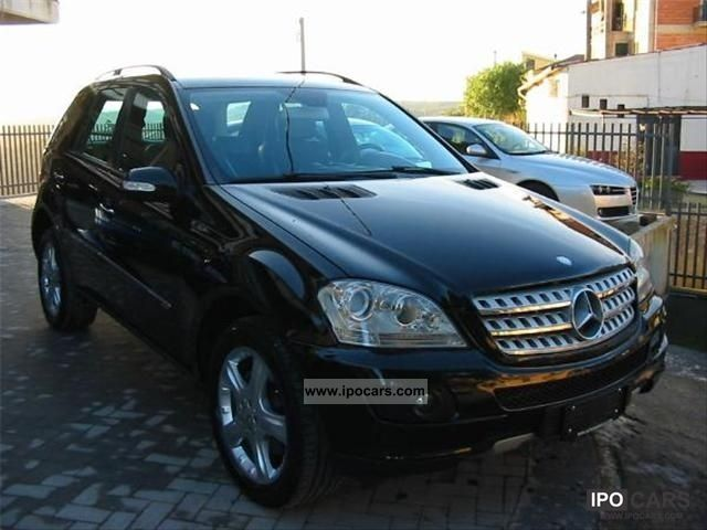 2006 mercedes benz ml 320 cdi 224cv sport car photo and specs. Black Bedroom Furniture Sets. Home Design Ideas