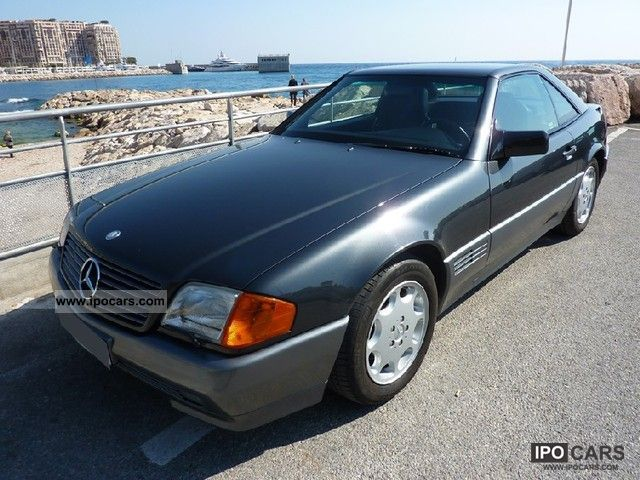 1994 mercedes benz sl 320 roadster aut car photo and specs. Black Bedroom Furniture Sets. Home Design Ideas