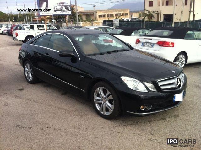 2009 mercedes benz cdi blueefficiency avantgarde e 250 coupe car photo and specs - Mercedes benz coupe 2009 ...