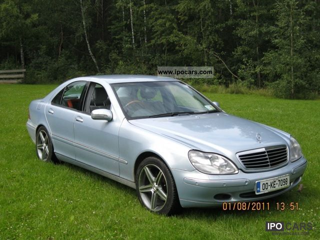 2000 mercedes benz s 320 car photo and specs. Black Bedroom Furniture Sets. Home Design Ideas