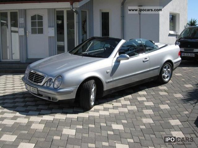 1999 mercedes benz clk 200 sport convertible car photo and specs. Black Bedroom Furniture Sets. Home Design Ideas