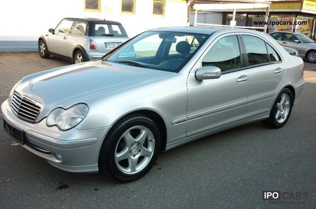 2001 mercedes-benz c 180 avantgarde - car photo and specs