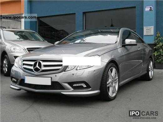 2009 Mercedes-Benz  CGI BlueEFFICIENCY Coupe E250 Auto avantga Sports car/Coupe Used vehicle photo