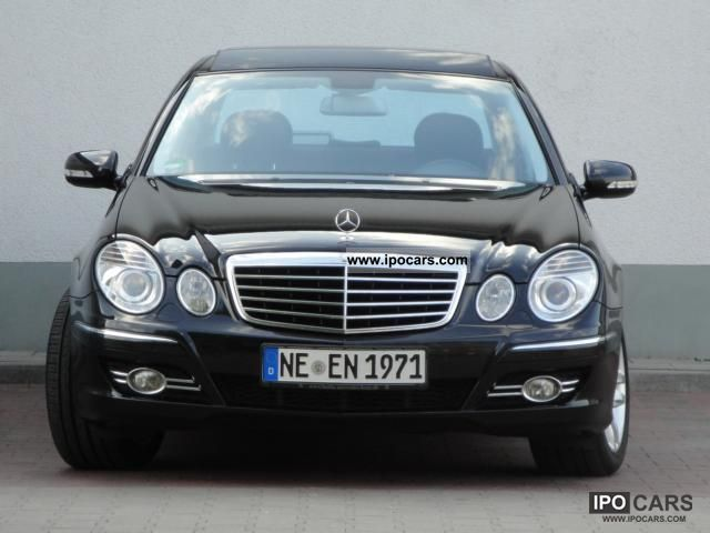 2006 mercedes benz e 320 cdi avantgarde dpf leather panoramic comand car photo and specs. Black Bedroom Furniture Sets. Home Design Ideas