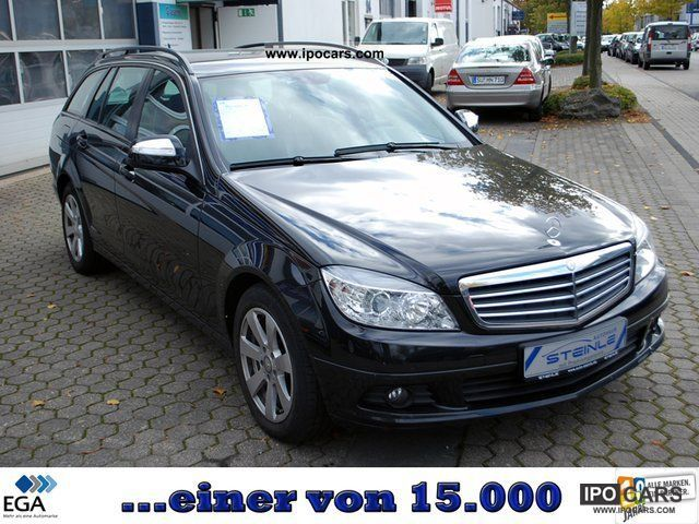 2008 mercedes benz c 200 t cdi leather navigation climate control car photo and specs. Black Bedroom Furniture Sets. Home Design Ideas
