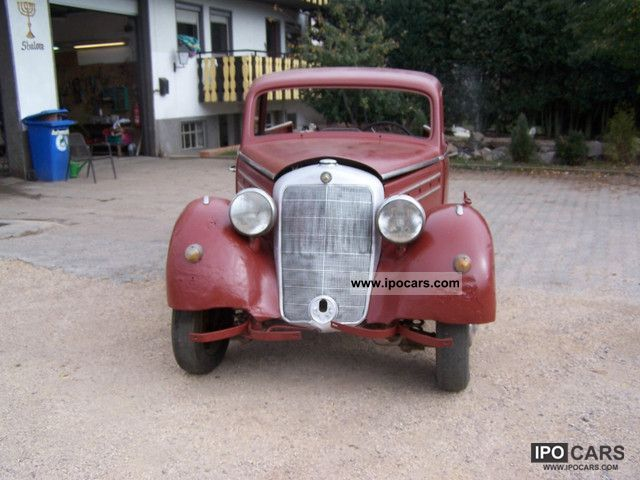 Mercedes-Benz  170DB DIESEL PLATFORM 1955 Vintage, Classic and Old Cars photo