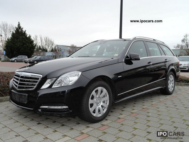 2010 mercedes benz e350 cdi estate avantgarde comand tv car photo and specs. Black Bedroom Furniture Sets. Home Design Ideas